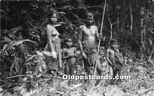 Sakai Showing Blow Pipe Malaya Nude Unused