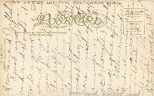 Artist Impression C-1910 Letter Writing Postcards Mail Tammen postcard 2173
