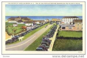 Street into Bathing Resort, Carolina Beach, North Carolina, 30-40s