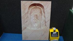 Continental Our Lord Sculpted in Carrara Marble Christus Gardens Gatlinburg TN
