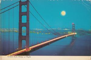 US San Francisco Golden Gate Bridge at Night