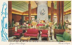 AS: Interior of Jasper Park Lodge, Alberta, Canada, O'Neill, 40-60s