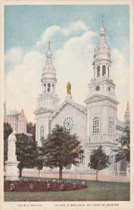 The Old Basilica, La Vieille Basilique, STE. ANNE DE BEAUPRE, Quebec, Canada,...