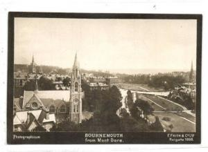dorset, BOURNEMOUTH From Mont Dore 1898 Photographicum