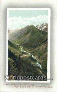 Illechillewaet Valley & Loop Mount Abbott Canada Unused