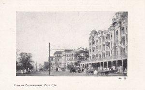 CALCUTTA, India, 00-10s; View of Chowringhee