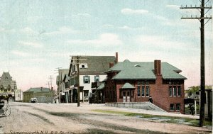 NH - Somersworth. Railroad Station