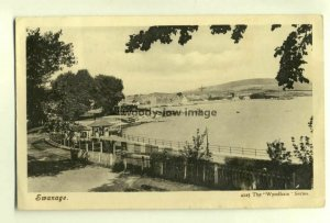 tp6051 - Dorset - View of Swanage Seafront & Bay c1905 - Postcard