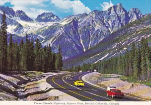 Canada Trans-Canada Highway Rogers Pass British Columbia