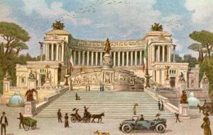 Italy - Rome, Monument to Vittorio Emanuele II