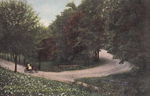 WILLIAMSPORT, Pennsylvania, PU-1913; Horseshoe Curve, Vallamont Drive