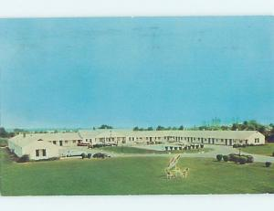 Pre-1980 MOTEL SCENE New Castle Delaware DE G7833