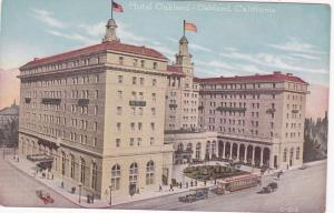 OAKLAND , California , 00-10s ; Exterior,Hotel Oakland, Trolley in front