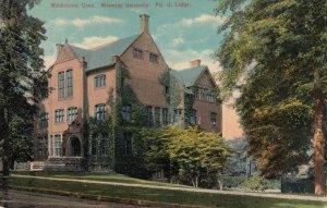 MIDDLETOWN , Conn. , 00-10s ; Wesleyan University , Psi U Lodge