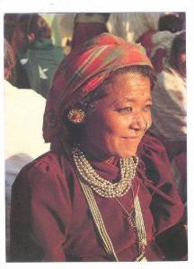 Gurung Lady , NEPAL , 70-80s