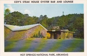 Arkansas Hot Springs Coy's Steak House Oyster Bat & Lounge