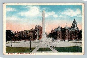 Buffalo NY, McKinley Monument, New York Vintage Postcard