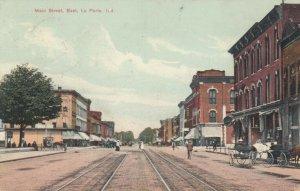 LA PORTE , Indiana , 1910 ; Main Street , East
