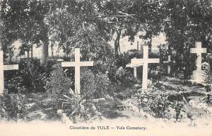 Papua New Guinea Cimetiere de Yule Cemetery Crosses