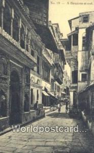 Benares, India Benares Street  Benares Street