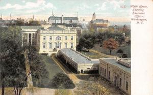 USA D.C. Washington, White House, Showing Executive Offices