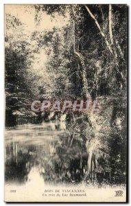 Old Postcard Bois De Vincennes A corner of Lake Daumesnil