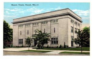 Wisconsin Neenah , Masonic Temple