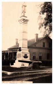 Connecticut   Brooklyn , Civil War Monument  RPC