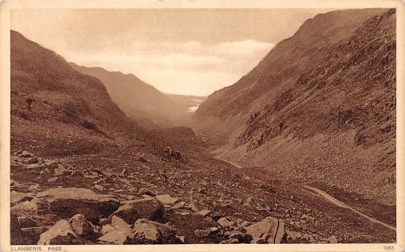 Wales Llanberis Pass, Hills Paysage Landscape