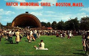 Massachusetts Boston Hatch Memorial Band Shell