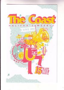 The Coast, Halifax Nova Scotia Weekly Newpaper, Advertising 15th Anniversary
