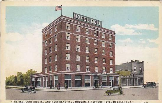 Hotel Bell Alva Oklahoma 10 20s