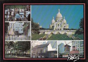 France Paris La basilique du Sacre-Coeur de Montmertre