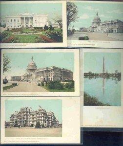 pc10463 postcard Washington DC Detroit Photographic 1900 all MOBSC