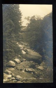 Ripton, Vermont/VT Postcard, The Gorge, Photo Postcard