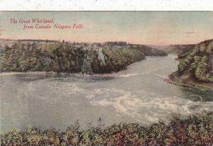 New York Niagara Falls The Great Whirlpool From Canada Niagara Falls 1911