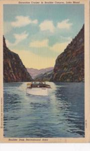 Nevada Lake Mead Excursion Cruiser In Boulder Dam Curteich