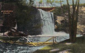 MANKATO, Minnesota, PU-1915; Minneopa Falls