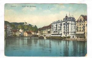 Luzern. Hotel des Balances , Switzerland, 00-10s