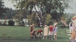 Lawn Bowling , Elgin House, Lake Muskoka , Ontario , Canada , 00-10s