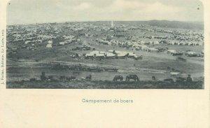 AFRIQUE DU SUD NELS EDITEUR SERIE TRANSVAAL CAMPEMENT DE BOERS