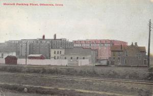Ottumwa IA~John Morrell Packing Plant~Iowa's Pride Bacon & Hams~Big House~1908