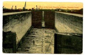 Panama - Canal Zone. Gatun Locks Chamber