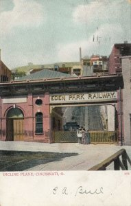CINCINNATI , Ohio , 1906 ; Incline Plane, Eden Park Railway