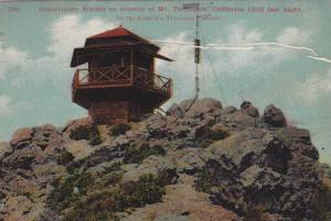 Observatory Station on summit of Mt. Tamalpais, California, PU-1909