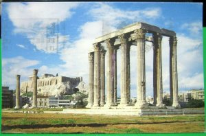Greece Athens Sanctuary of the Olympian Zeus - posted 1998