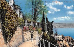 Croatia Abbazia Strandpartie am Sudstrand Promenade
