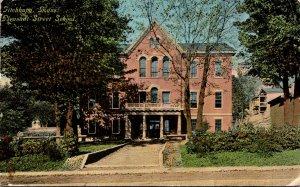 Massachusetts Fitchburg Pleasant Street School 1910