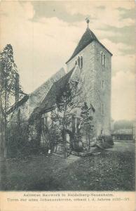 Germany Aeltestes Bauwerk in Heidelberg Neuenheim Turm der alten Johanneskirche