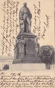 Grossherzog Karl Freidrich-Denkmal, Karlsruhe, Baden-Wurrtemberg, Germany, PU...